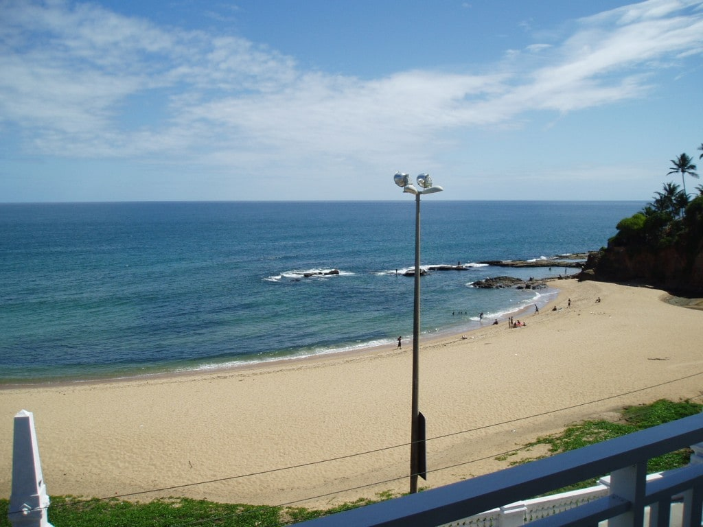 Yes, the view is this good!  Enjoy the idyllic Praia (beach) da Paciência in the heart of Salvador between Rio Vermelho and Ondina/Barra (you can walk along the oceanfront to the center of Rio Vermelho and Barra)