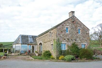 Modern farmhouse with amazing views