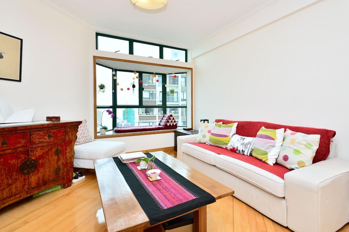Spacious apartment, great views