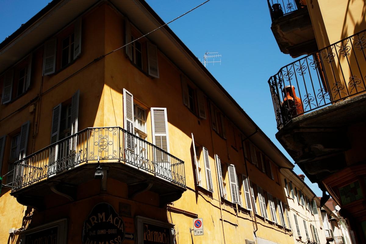 affascinante casa antica centro Bra