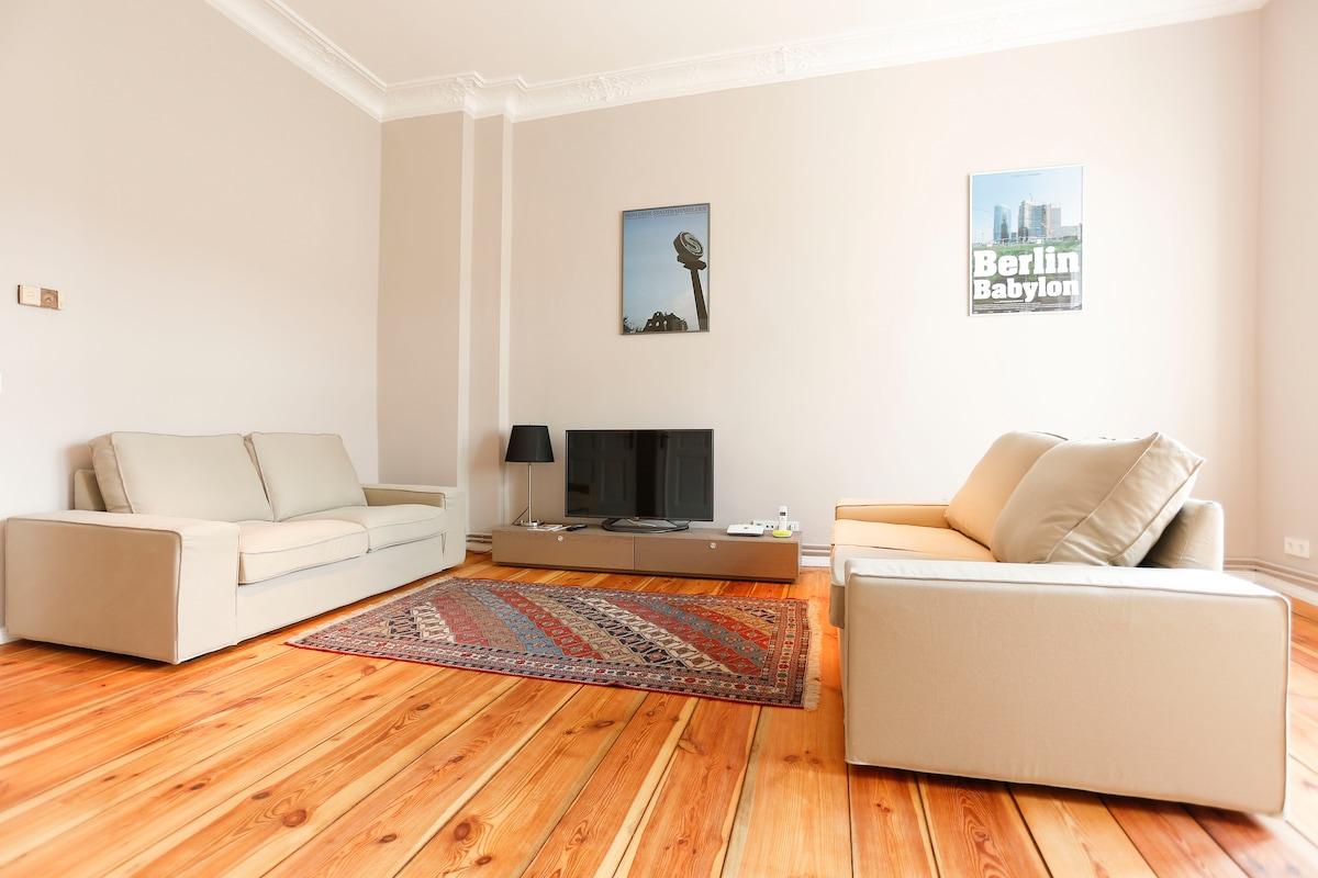 Sunny apartment in Prenzlauer Berg