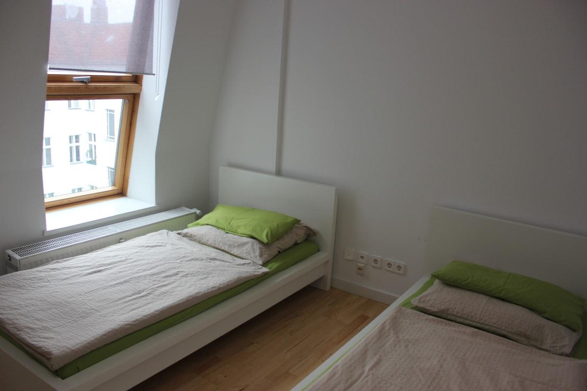 BerlinCityStay Zimmer 6 Langzeit