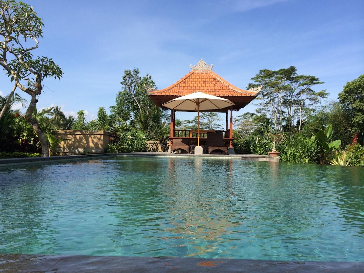5 Bedroom Private Pool Villa Ubud