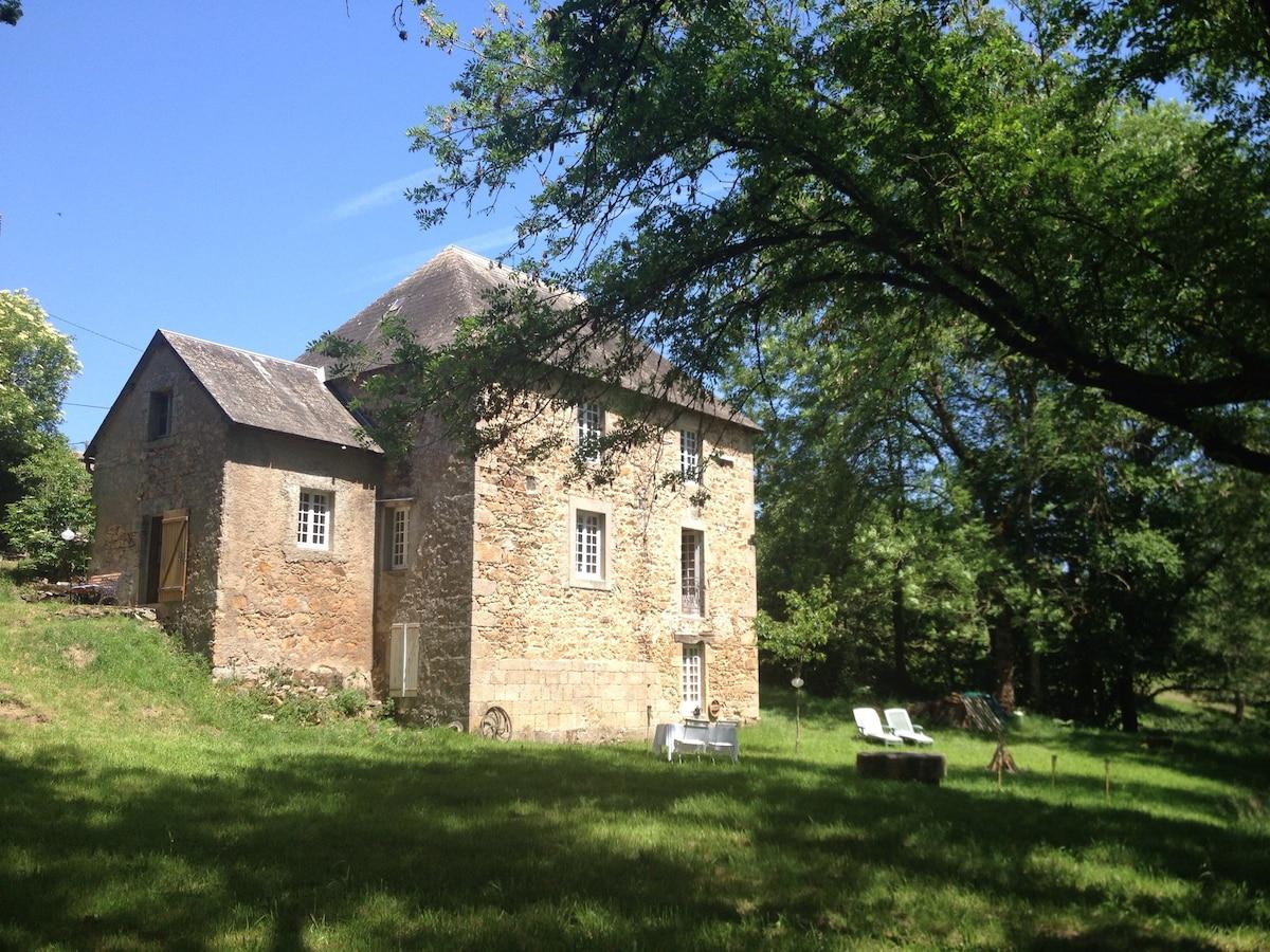 Moulin du Reuil - logeren in een oude graanmolen...