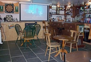 House with Bar & Cinema near beach