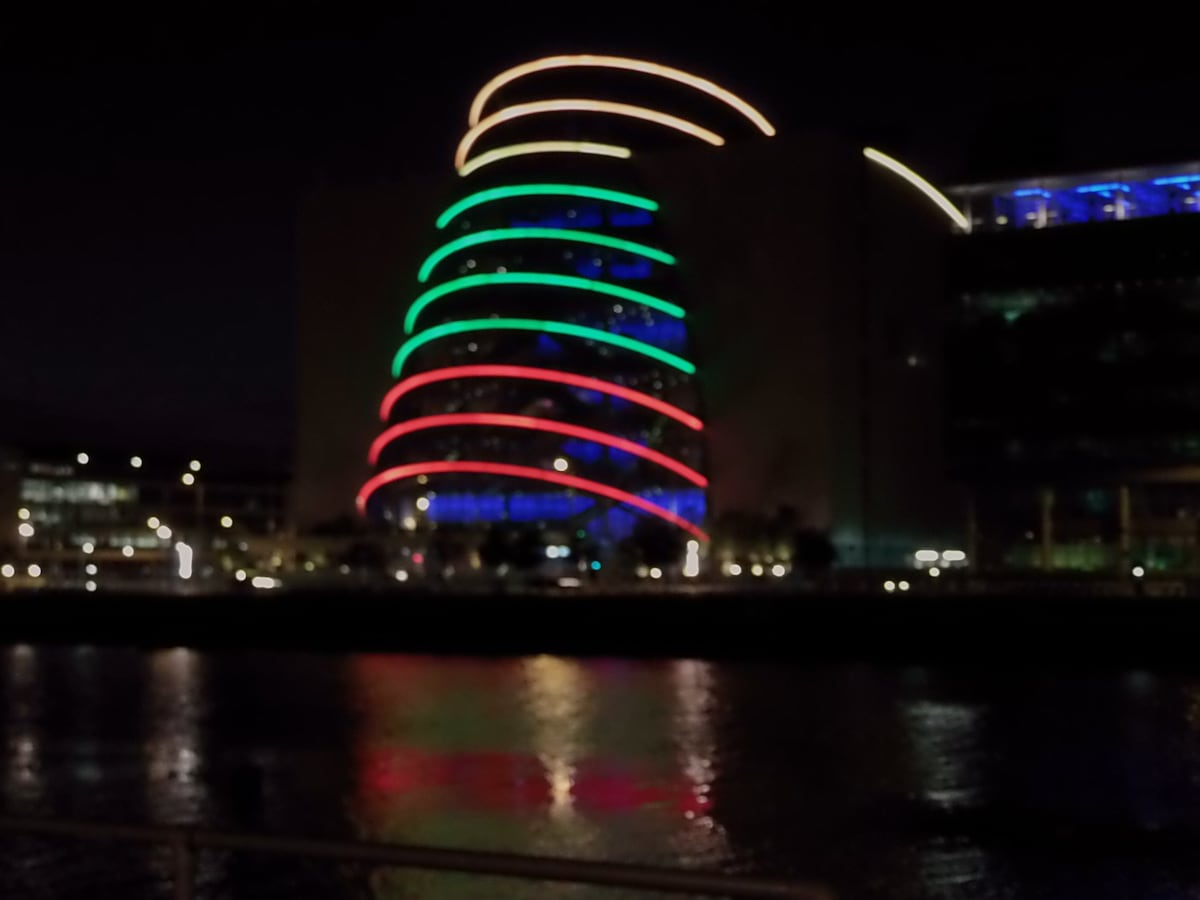 """The Convention Centre or the Dubs call it """"The Can Of Coke Building"""""""