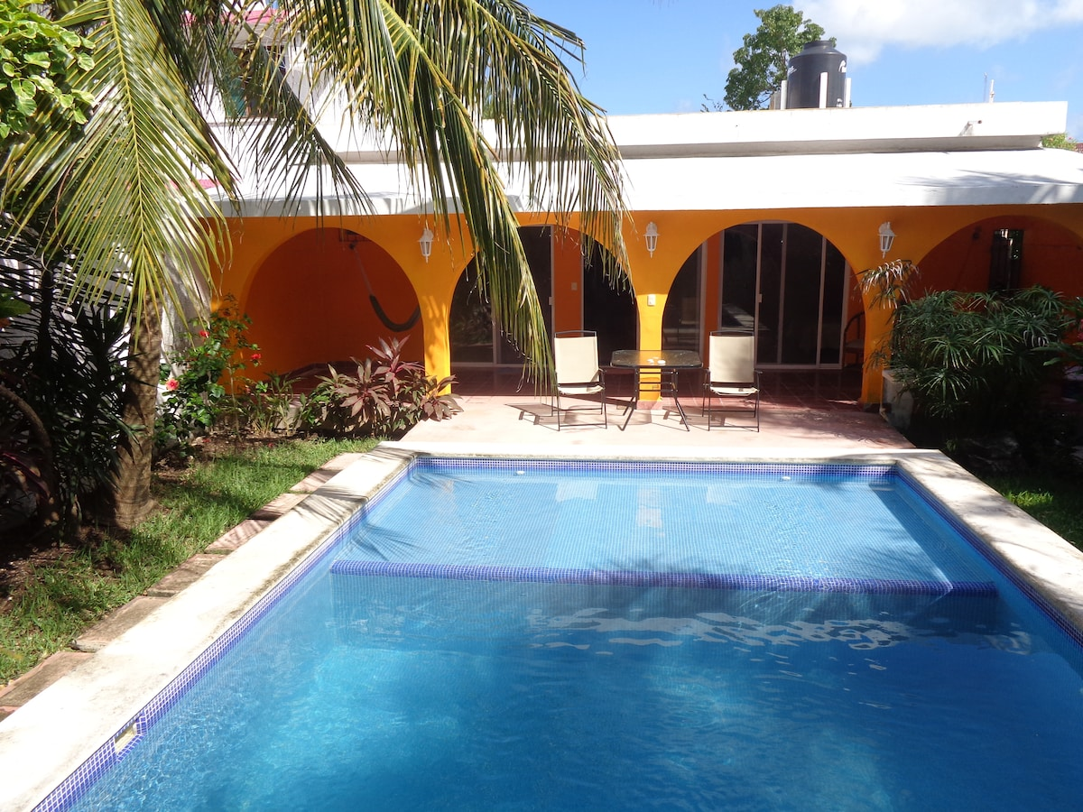 Beautiful Casa With pool on cozumel