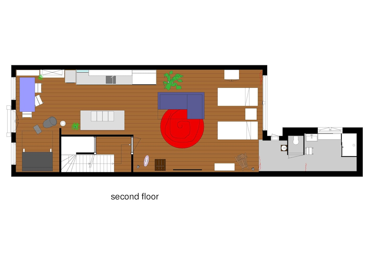 Plan Nassau Apartment
