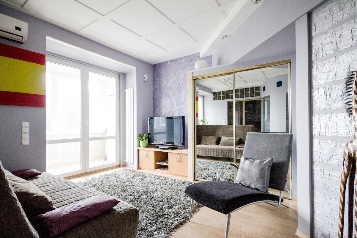 Гостиная с импортной мебелью