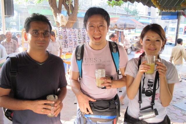 Exploring Mumbai with Japanese Couple(guests at us)
