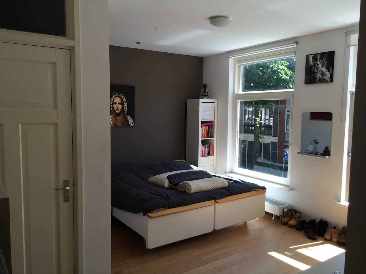 Bedroom c. The bed can also be separated in 2 single beds. Bathroom en suite.