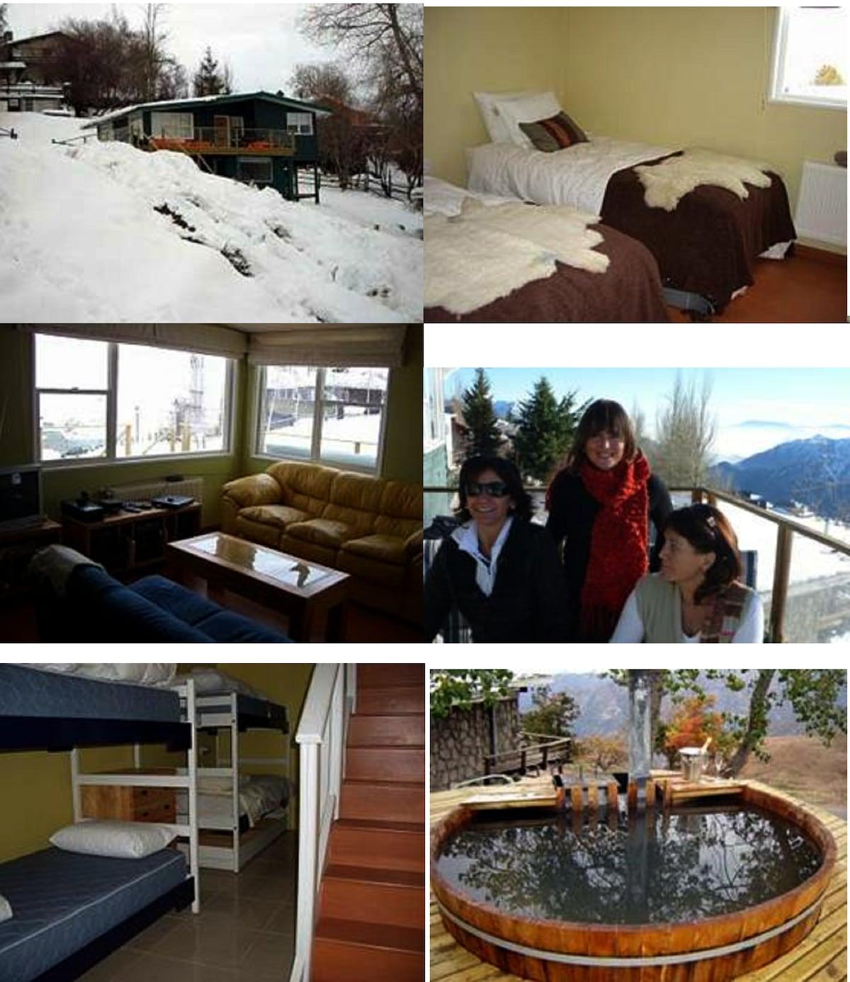Casa 10 pax Centro Ski Farellones