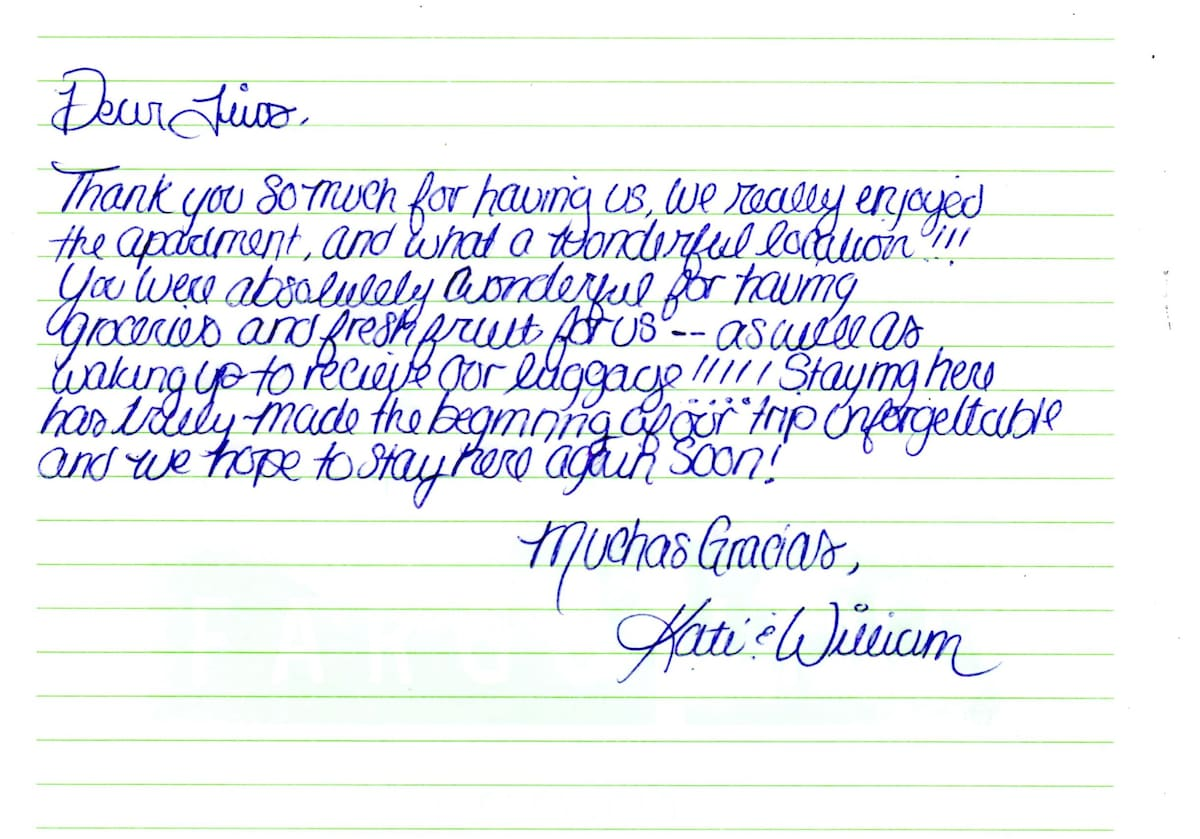 Message Kate & William from Houston - USA