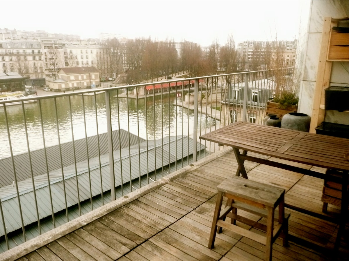 Terrace and its incredible view!..