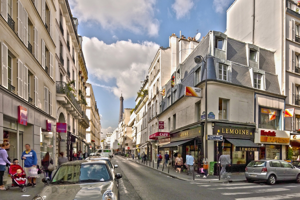 Invalides Charming One Bedroom