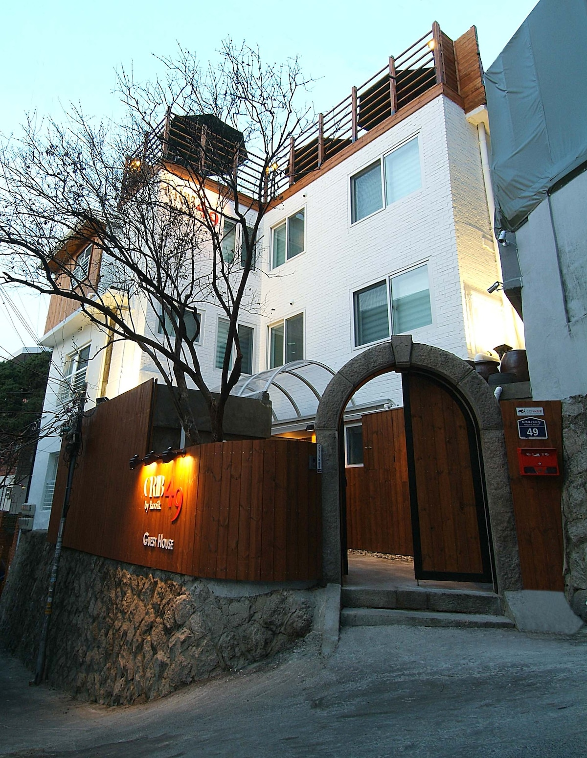 The main entrance of our GuestHouse