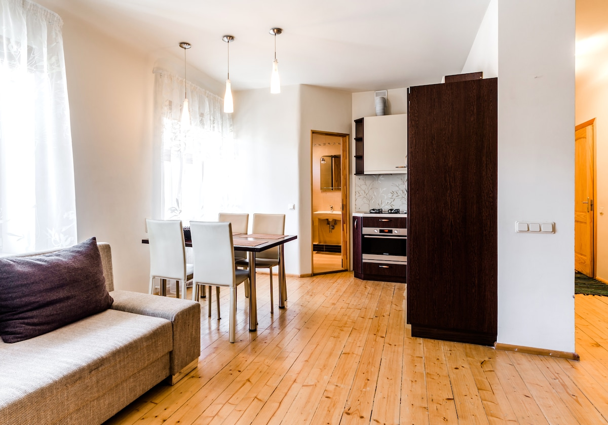 2 room studio in the center of Riga