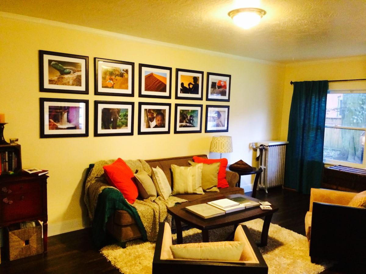 Cozy one bedroom in trendy NE PDX!