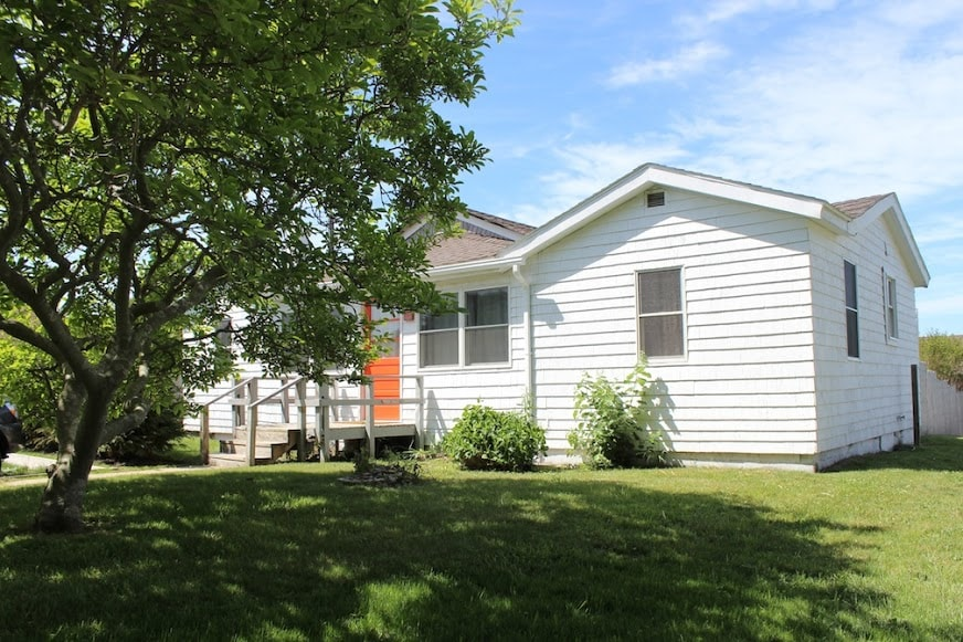 3 bedroom, 2 bath house with private porch and access to Fort Pond