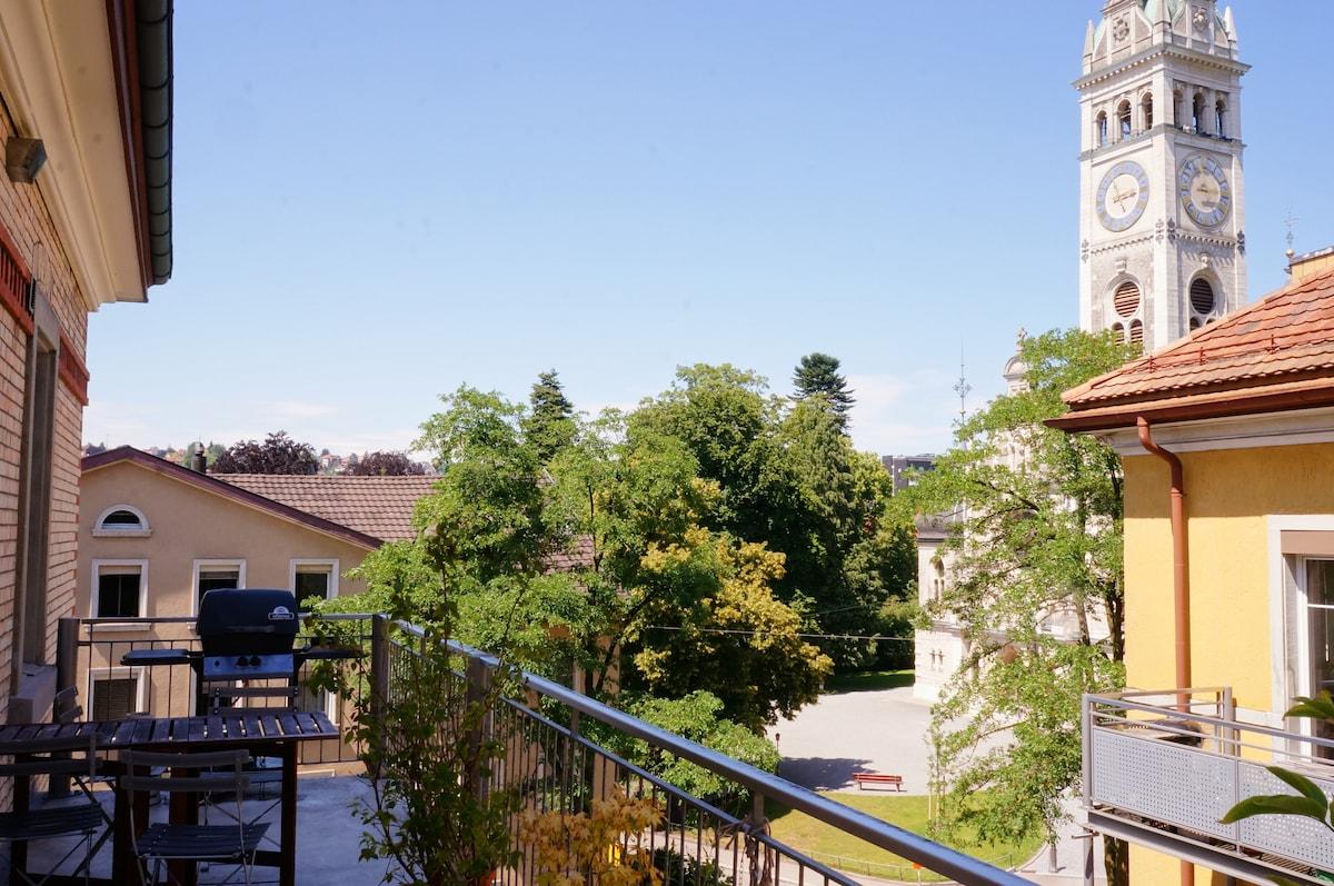 Breakfast,Bikes&Balcony,5min center
