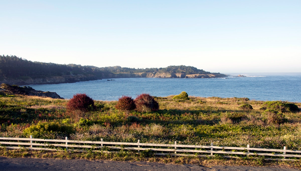 Mendocino Headlands State Park is your front yard with hiking, views and beaches