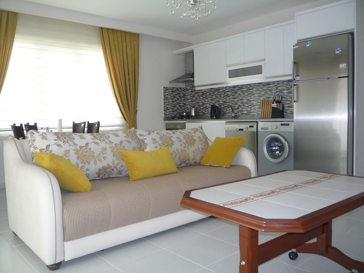 Квартира 2+1 в Махмутларе (Аланья)