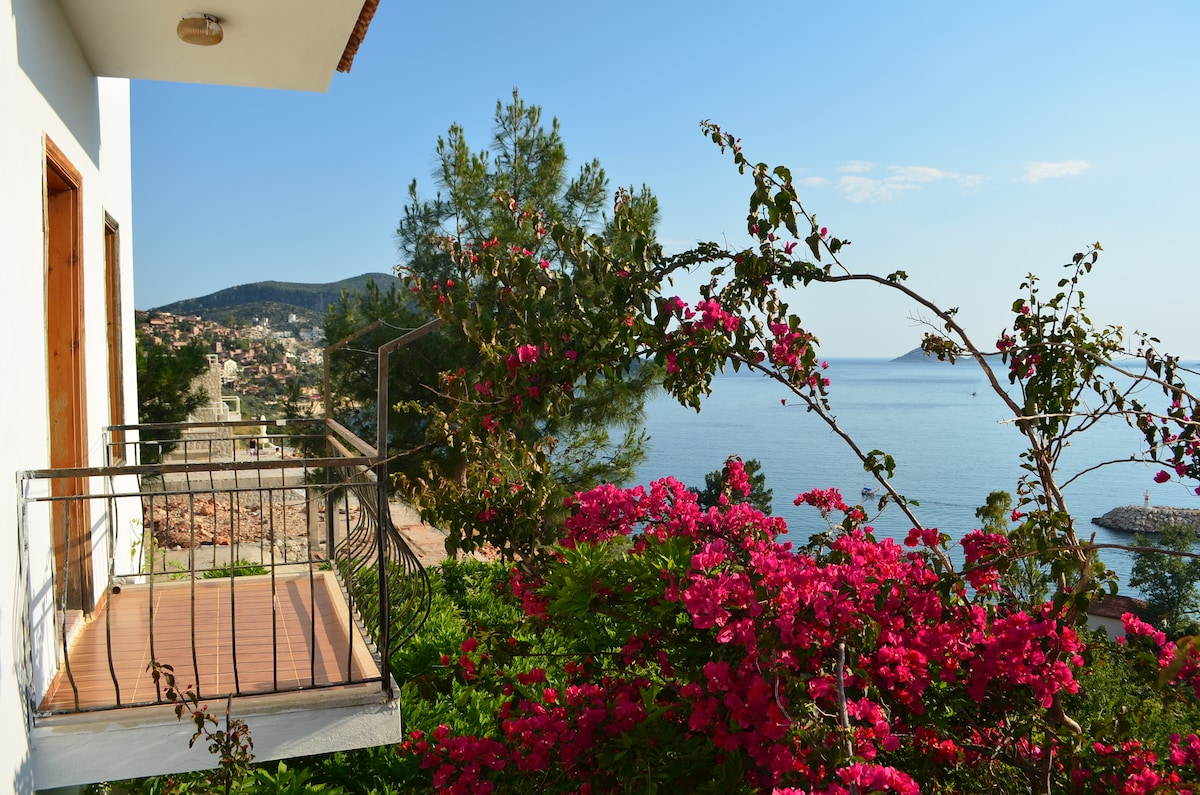 Stunning view of Kalkan´s bay. 2.