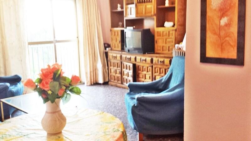 Salón comedor, apartamento b