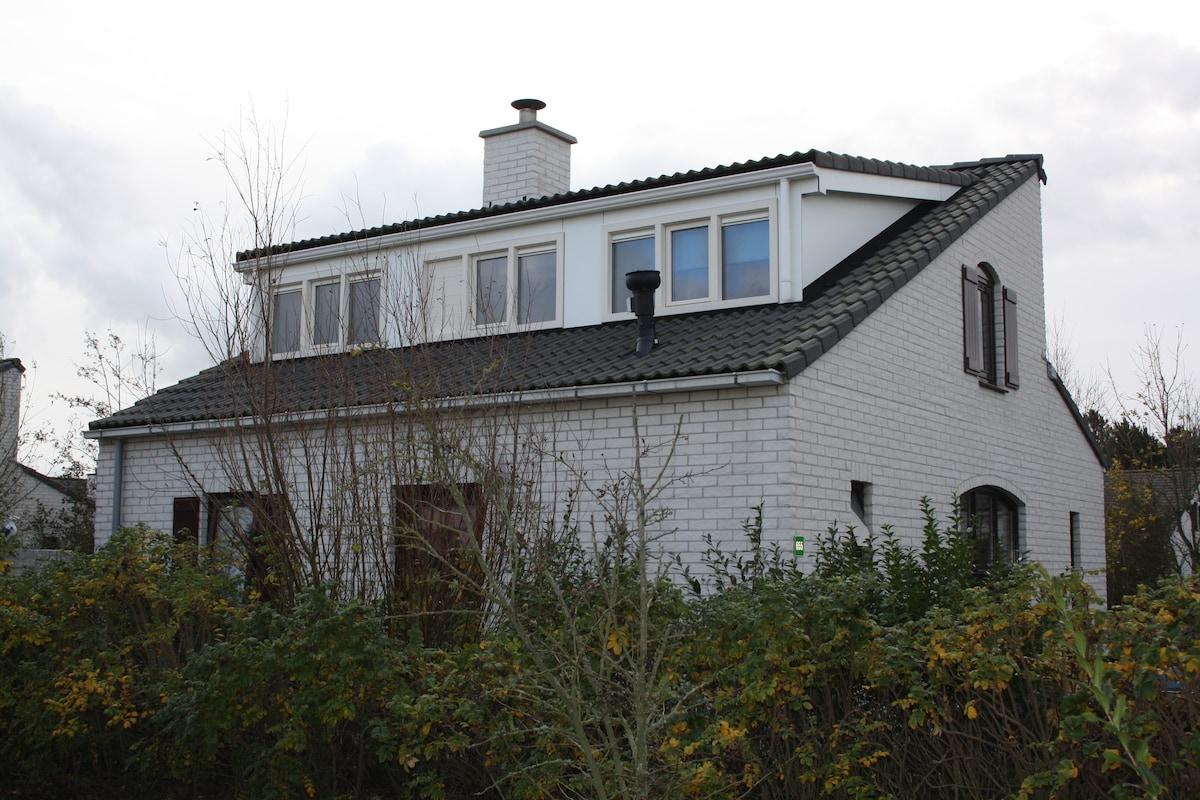 Vrijstaande vakantiewoning op Texel