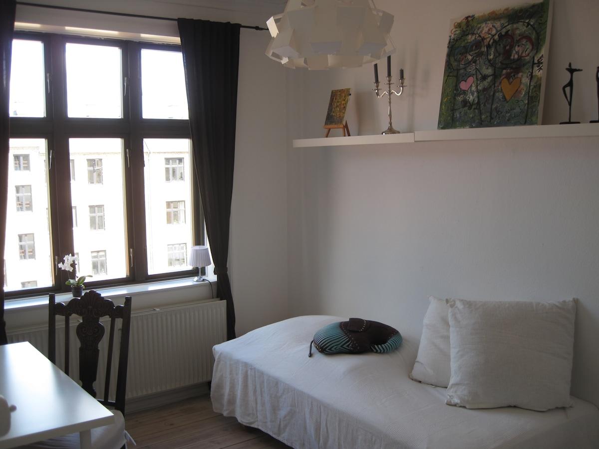 Nice, quiet room at Frederiksberg