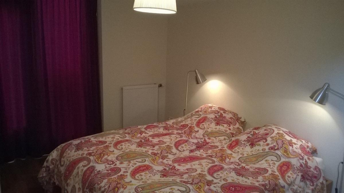 Lekker donkere slaapkamer!