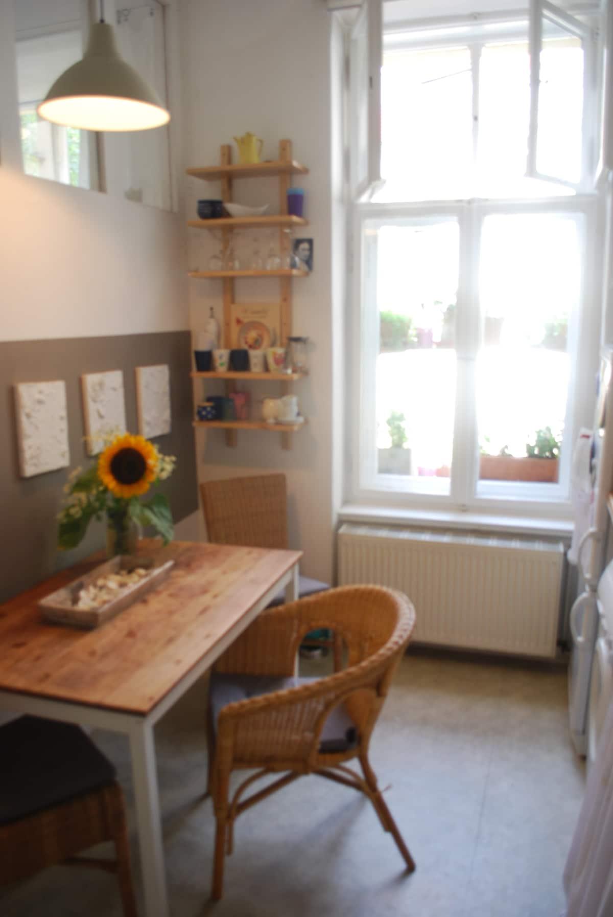 Comfortable 3rooms artist apartment