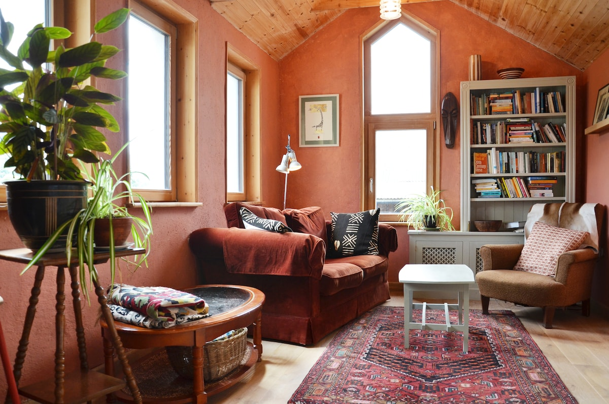 Guest sitting room/library room