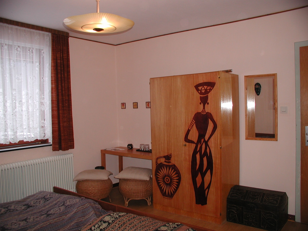 """Unser Gästezimmer """"Africa-Style"""""""