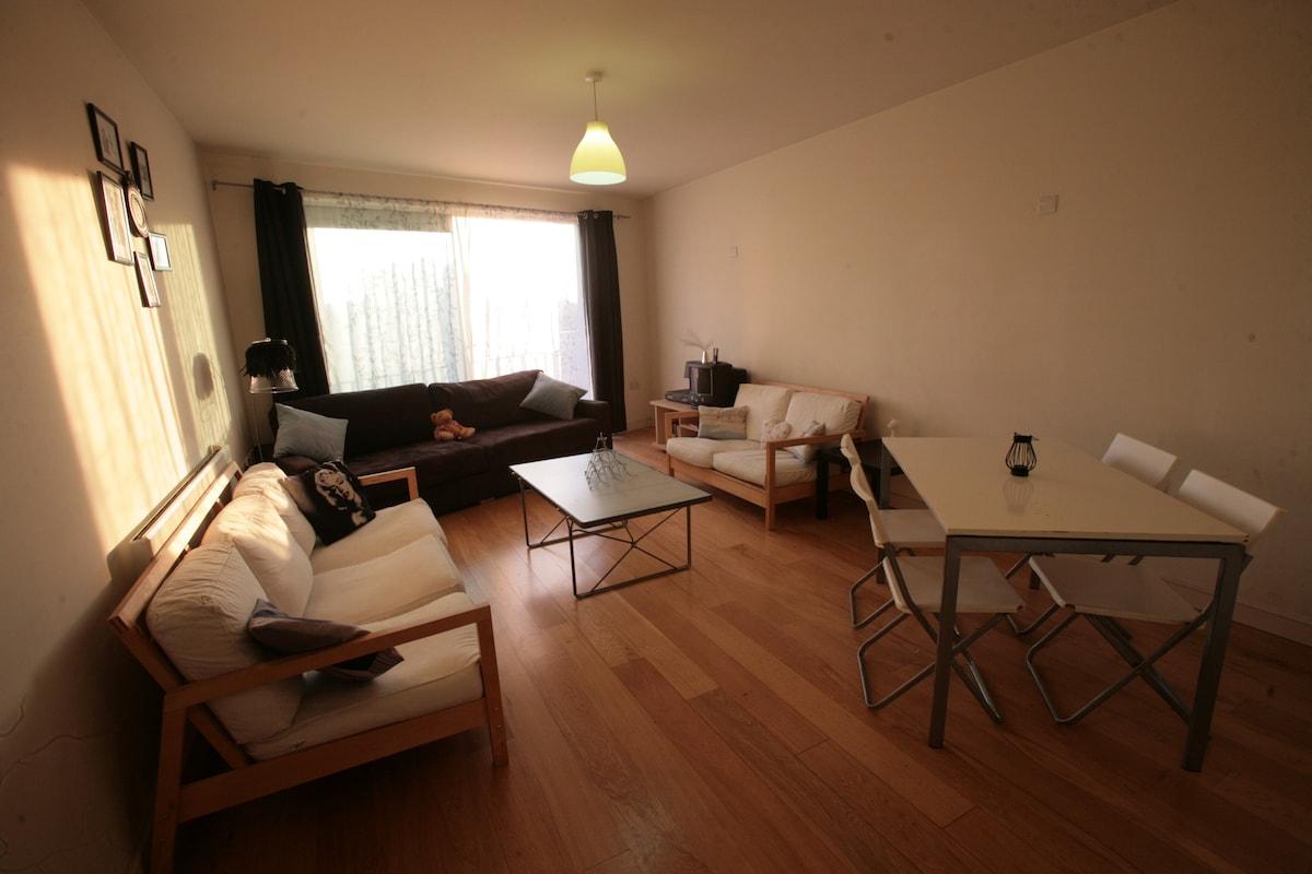 Open plan communal  living space