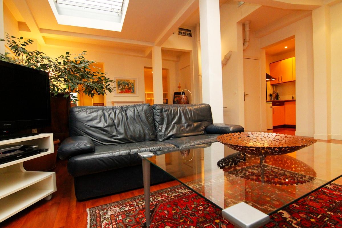2bedroom 1000sqf Loft  Montorgueil