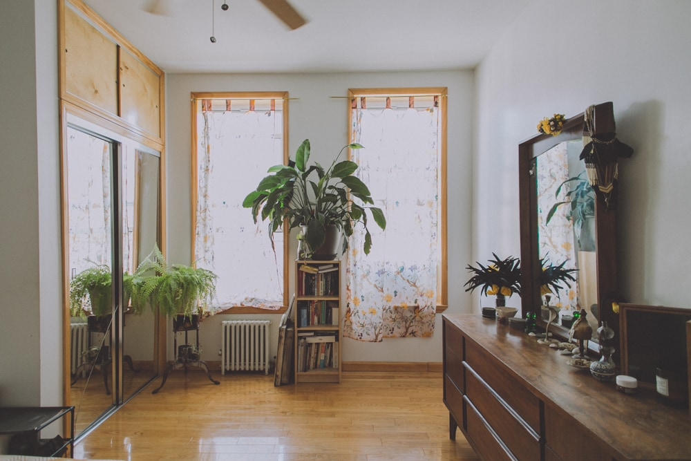 Sun drenched room in spacious apt
