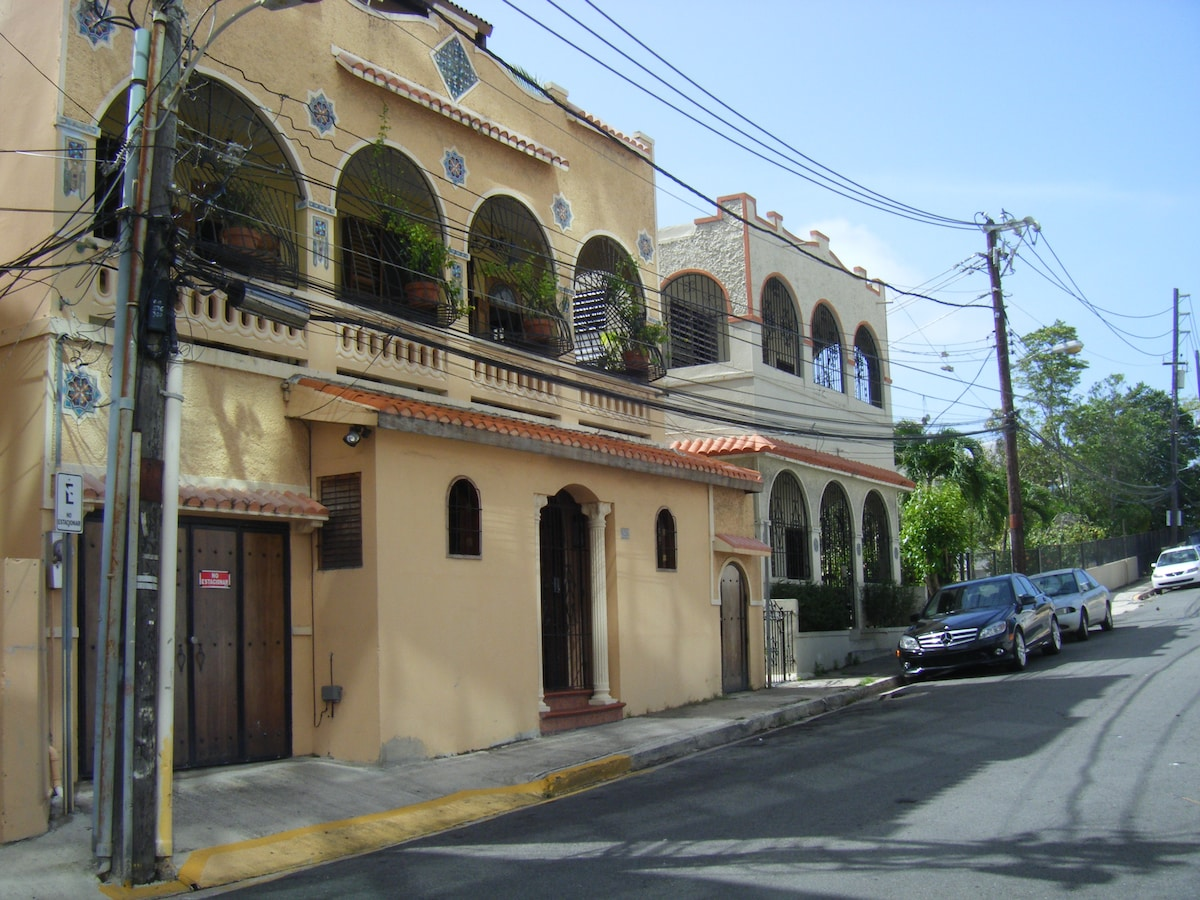 The house was originally built in 1915. Second floor including typical 'Santurce Mosaics' was added in the 1920's.