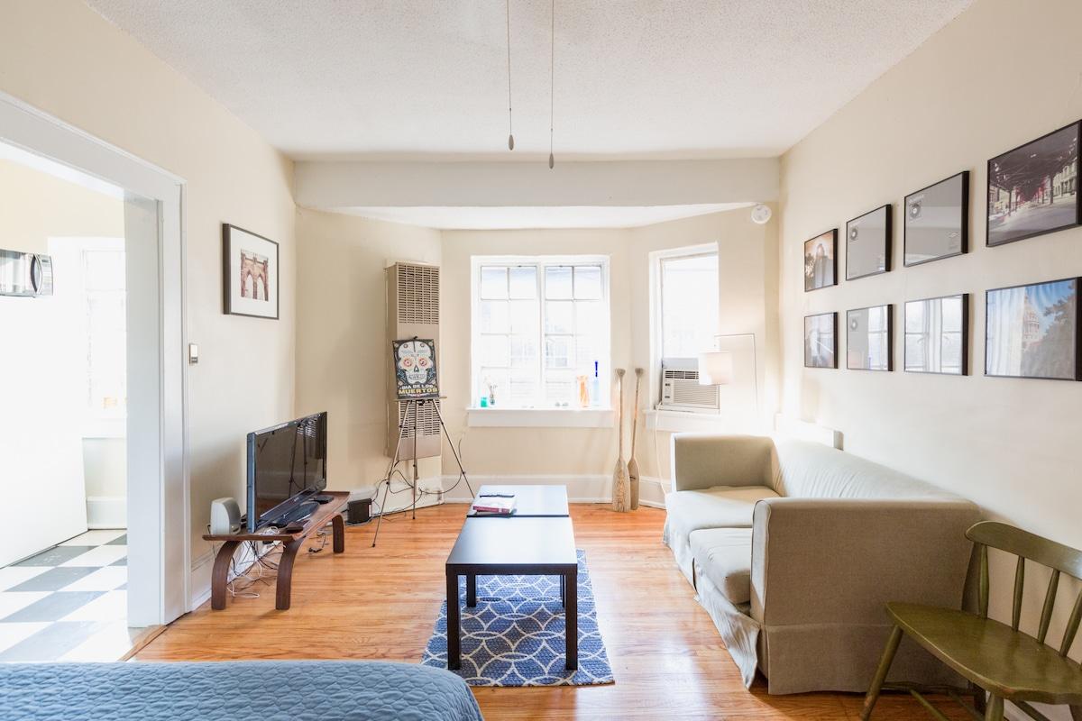Historical 1920s Studio Apartment