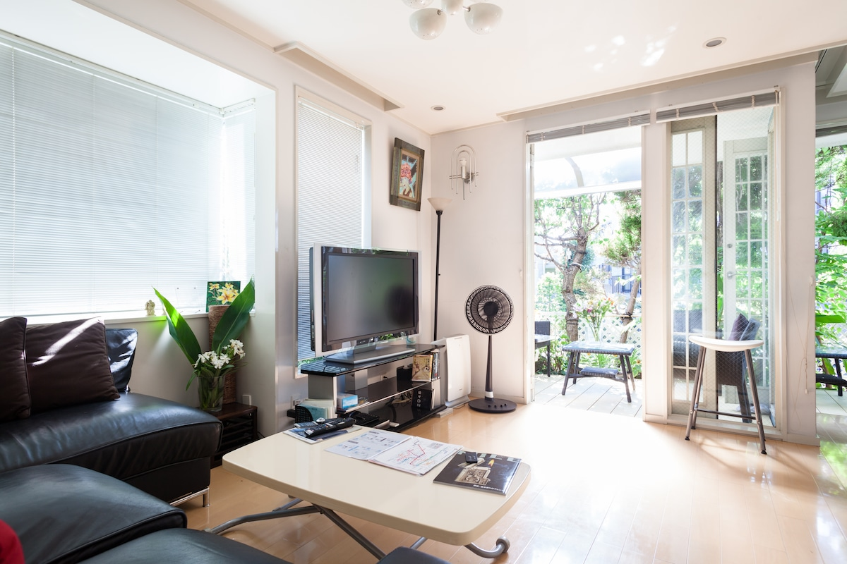 living with 50TFT TV