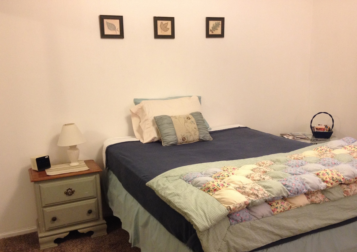 Centrally located -affordable