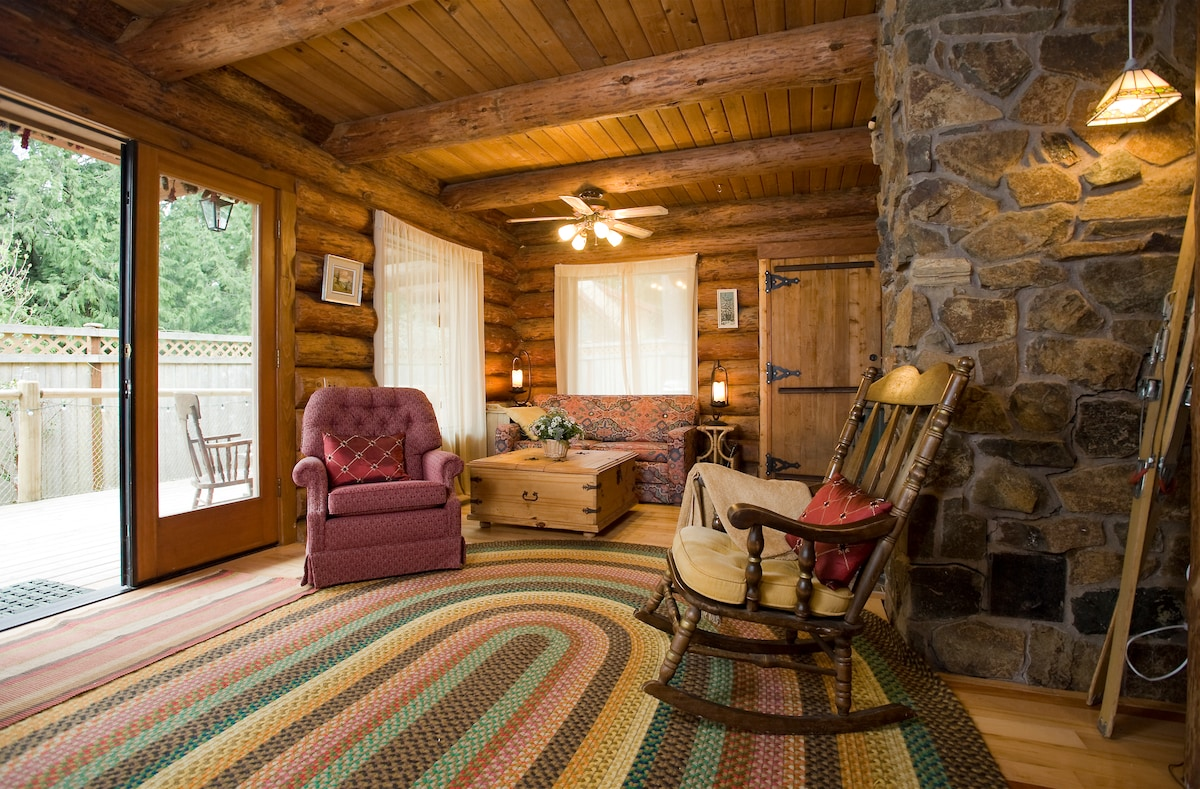 Enjoy Log cabin and the North West!