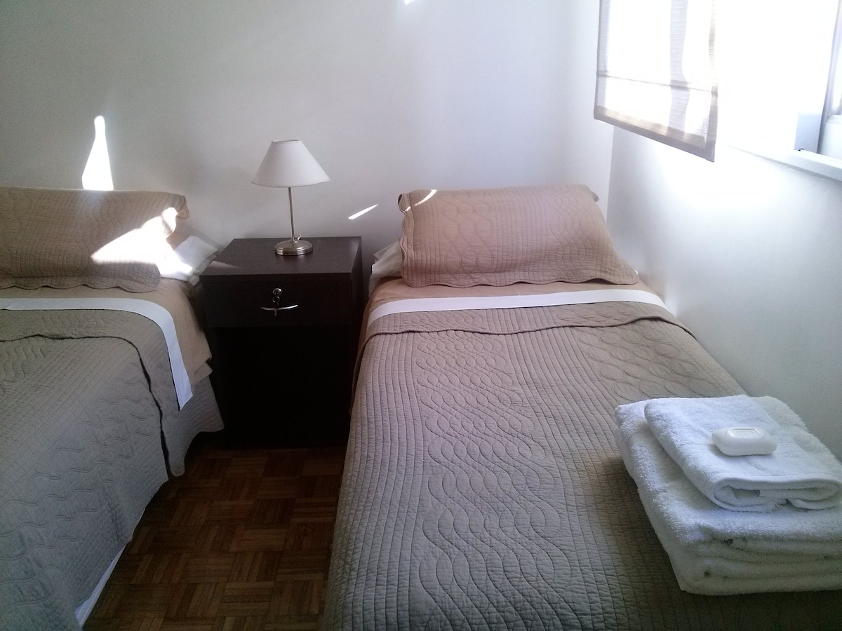One of the 2 bedrooms (picture taken on August 19th, 2014)
