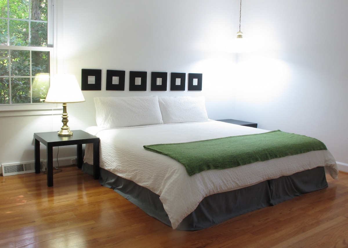 Master Bedroom where you will be staying