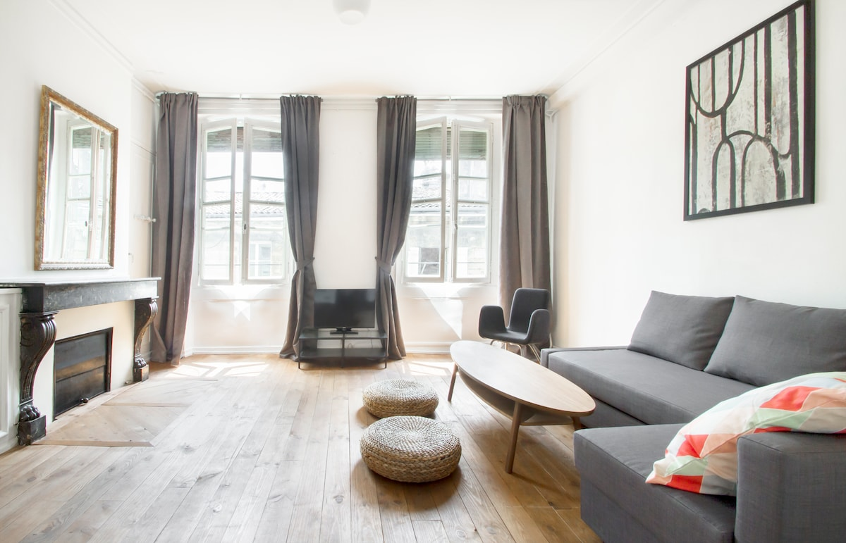 NEW! Charming Apt in City Center