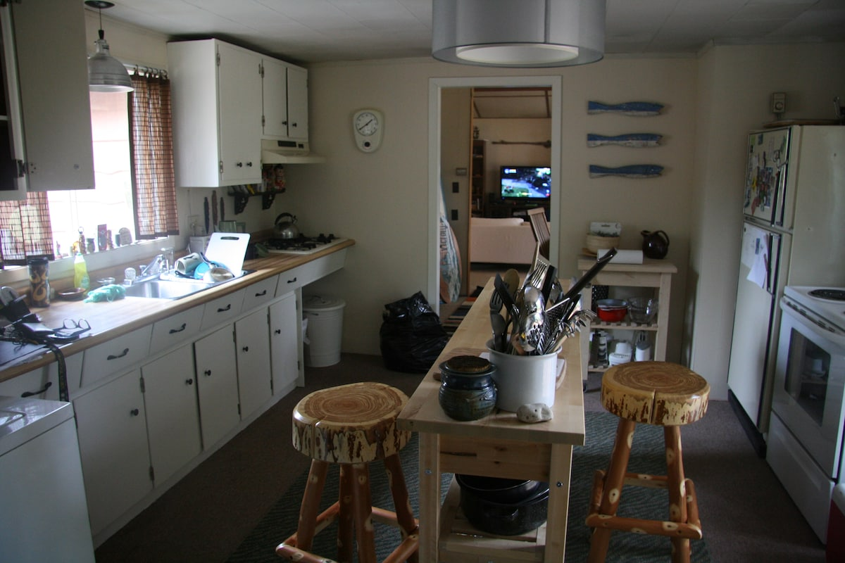 Kitchen with all that one needs.