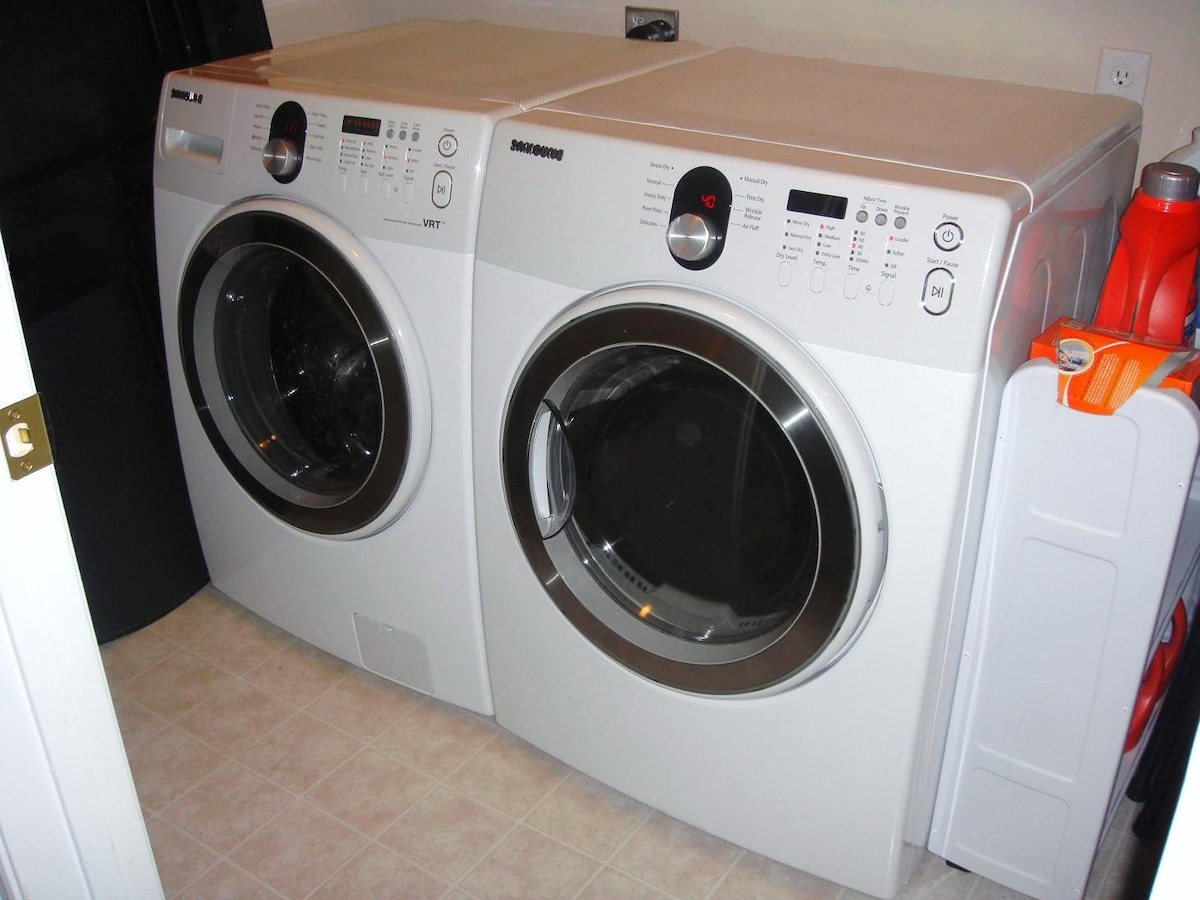 Washer & Dryer are both NEW and IN UNIT
