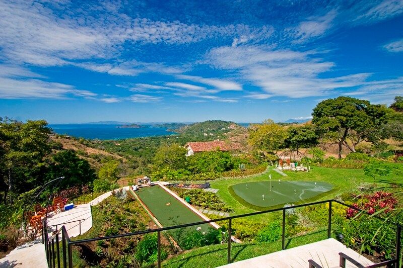 All Inclusive Ocean View Villa