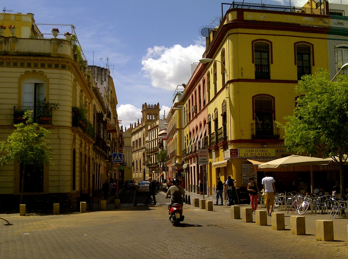 Calle Trajano--located in chic bohemian neighborhood