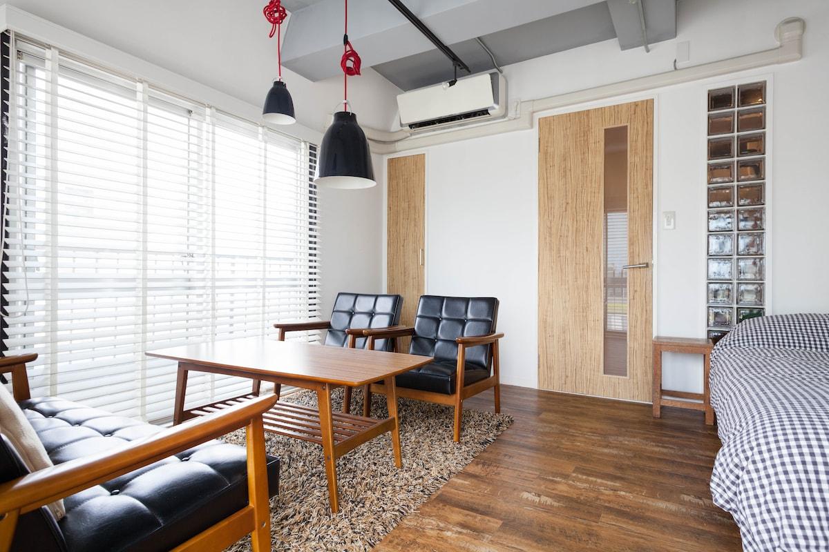 Very airy corner apartment